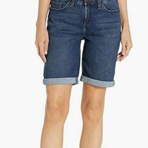 Lee Flex Motion Bermuda Jean Shorts Size 14